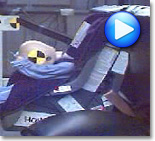 Front-Facing Car Seat Crash Test Video